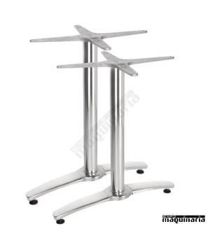Base doble de aluminio para mesa NIGH985