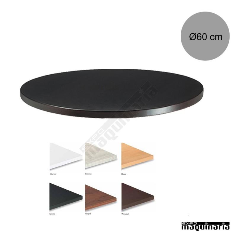 Tablero para mesas de melamina 60 cm con acabado en - Tableros para mesas ...