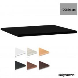 Tablero para mesas de Melamina 100x60 cm