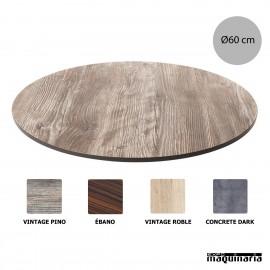 Tablero compacto mesa de terraza NICK806 medidas
