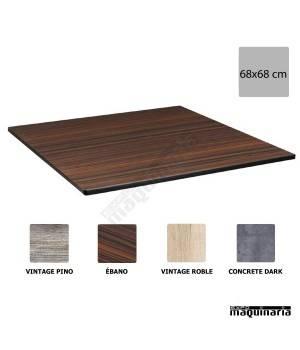 Tablero cuadrado compacto terraza NIDM029