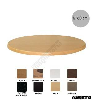 Tableros para mesas werzalit redondo NIU550