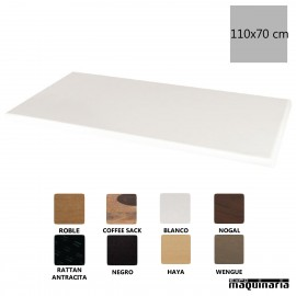Tablero rectangular blanco 110x70 NIGC609
