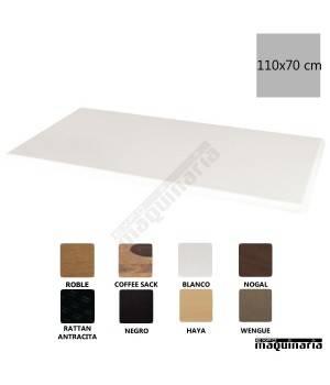 Tablero rectangular blanco 110x70 NIGC609