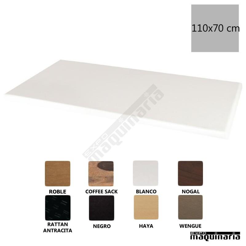 Tablero rectangular blanco 110x70 nigc609 uso interior y exterior - Tablero blanco ...