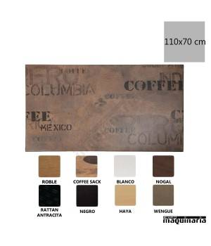 Tablero Coffee Sack 110x70 NIGL311