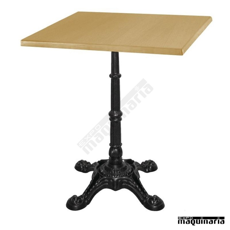 Tablero para mesa roble 70x70 nicc517 uso interior exterior for Mesa 70x70 madera