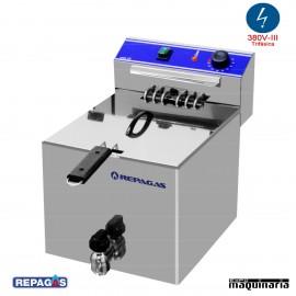 Freidora eléctrica de sobremesa RGFE10MP de 10 litros