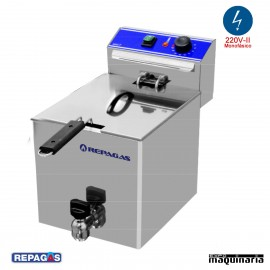 Freidora eléctrica de sobremesa RGFE7M de 7 litros
