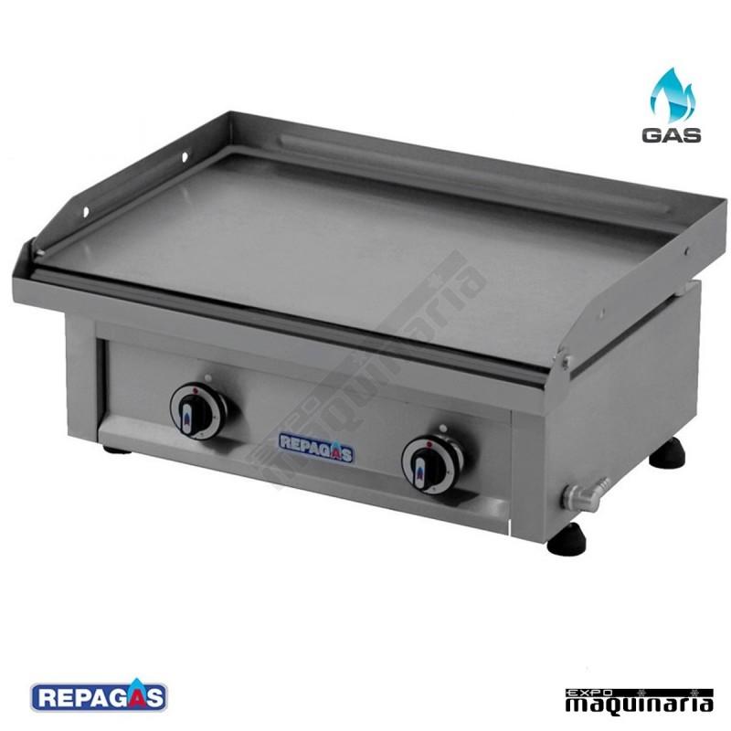 Plancha a gas semiprofesional pg640 repagas for Cocinas industriales a gas