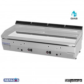 Plancha a gas CROMO DURO. RGPG-125/CD -15mm