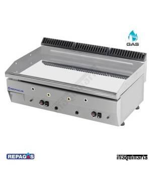 Plancha a gas CROMO DURO. RGPG-950/CD -15mm