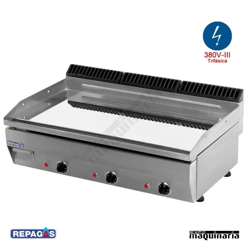Maquinaria de hosteleria plancha electrica e 95 de cromo - Planchas electricas cocina ...