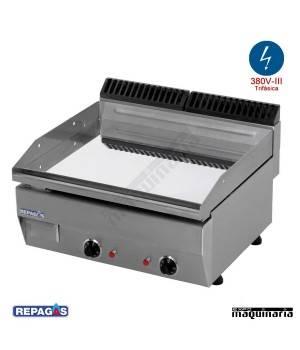 Maquinaria de hosteleria plancha electrica e 45 con for Cocina industrial electrica