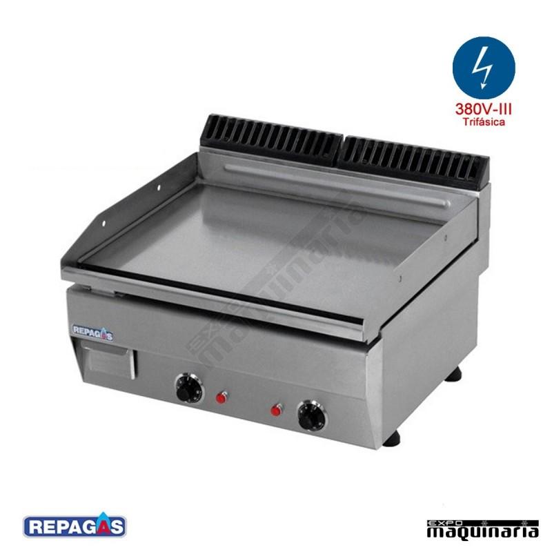 Maquinaria de hosteleria plancha electrica e 65 for Cocina industrial electrica