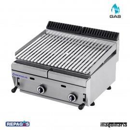 Barbacoa a gas Repagas RGBAR65 (Briquetas de ceramica)