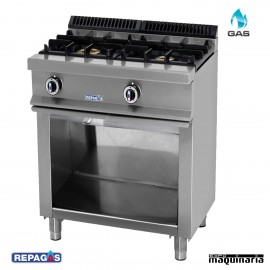 Cocina industrial Repagas RGCG520 dos quemadores de gas