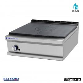 Cocina industrial Repagas RGCG710RM un quemador de gas y horno industrial