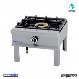 Cocina industrial Repagas HP-14/P un quemador de gas