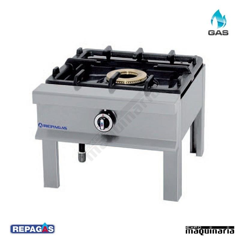 Cocina industrial repagas rghp 14 un quemador de gas for Mesa de cocina industrial