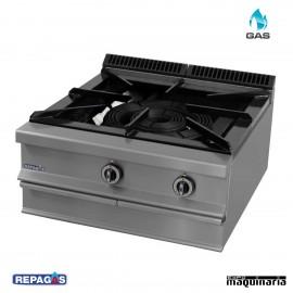 Cocina industrial Repagas HP-26/M un quemador de gas