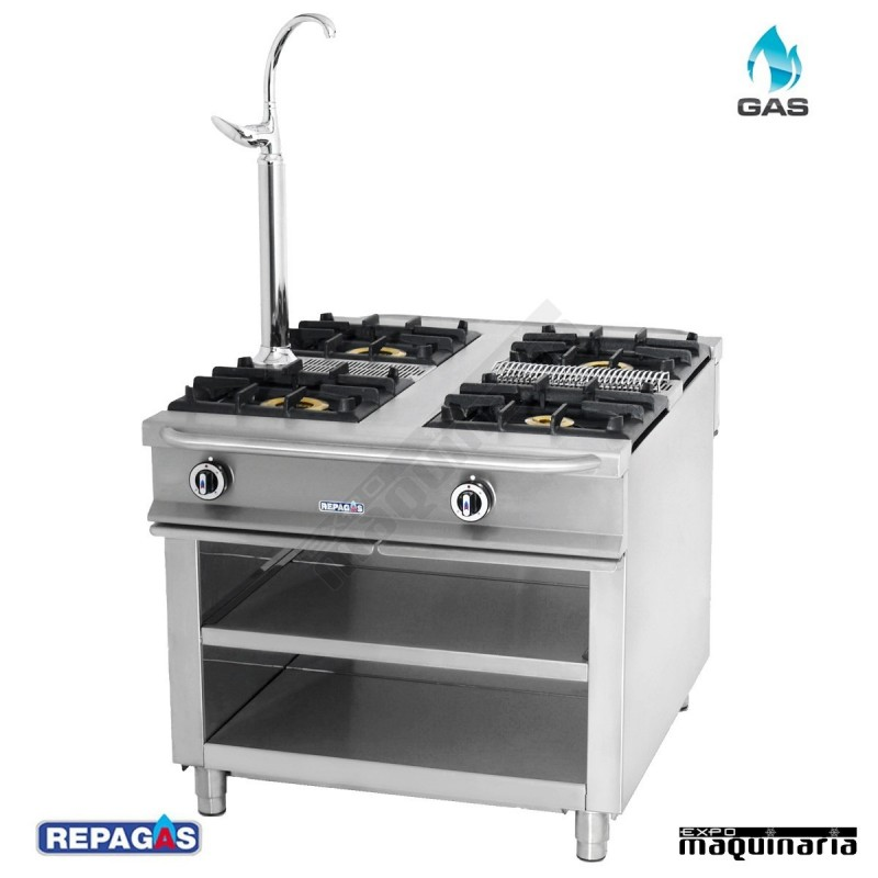 Maquinaria hosteleria cocina industrial c 1140 for Cocinas repagas