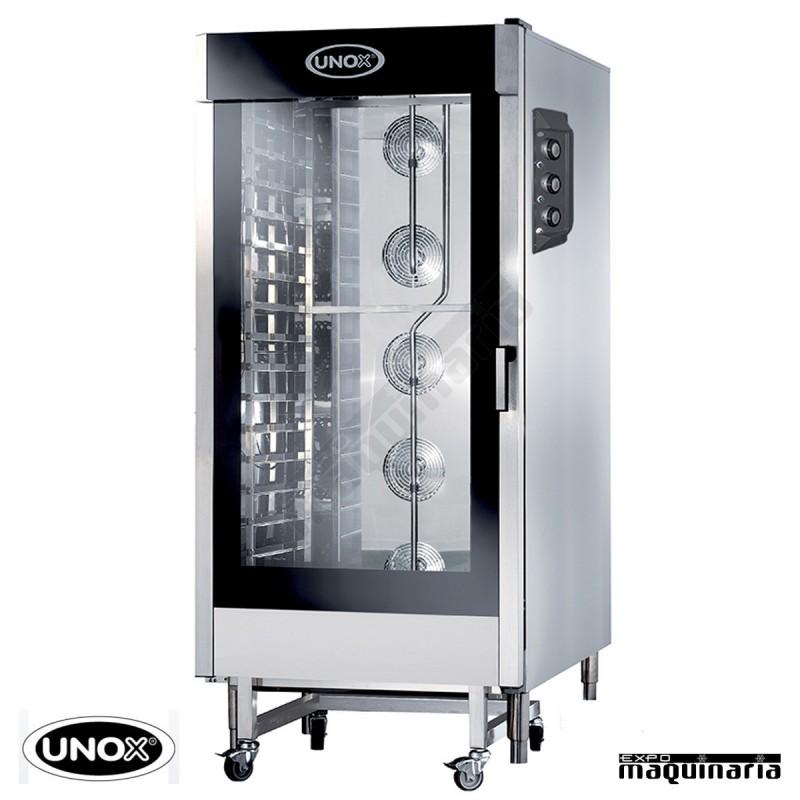 Horno el ctrico unox cheflux eco manual unxv4093 de hosteler a for Medidas de hornos electricos