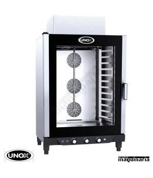 Horno de gas Unox CHEFLUX manual UNXV813G GN1/1