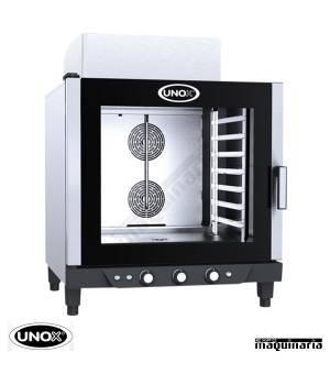 Horno de gas Unox CHEFLUX manual UNXV513G GN1/1