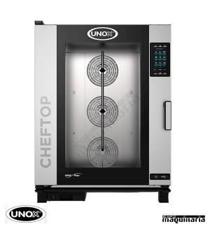 Horno de gas Unox GN 2/1 CHEFTOP digital UNXEVC1021GPR