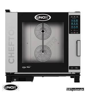 Horno de gas Unox GN 2/1 CHEFTOP digital UNXEVC0621GPR