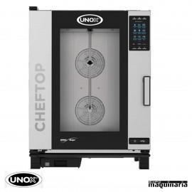 Horno de gas Unox GN 1/1 CHEFTOP digital UNXEVC1011GPR