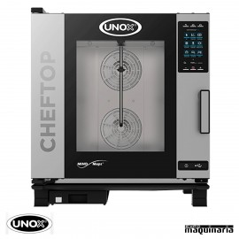 Horno de gas Unox GN 1/1 CHEFTOP digital UNXEVC0711GPR