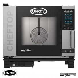 Horno de gas Unox GN 1/1 CHEFTOP digital UNXEVC0511GPR