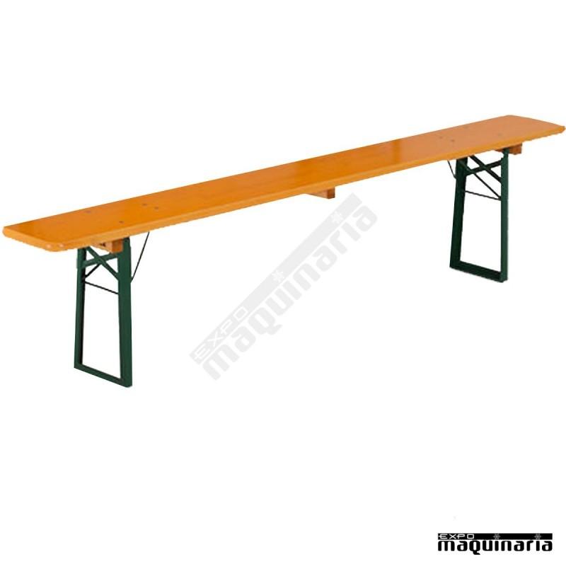 Mesa plegable con bancos de catering comfort - Mesa con bancos ...