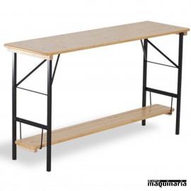 Mesa plegable alta Catering de madera STANDUP