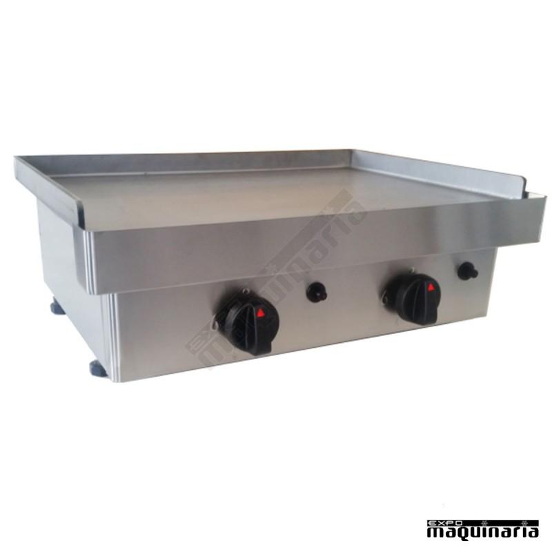 Plancha a gas de acero laminado ax60pgl fabricada en espa a - Plancha para cocina a gas ...