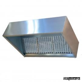 Campana condensación para hornos de 1.5 m