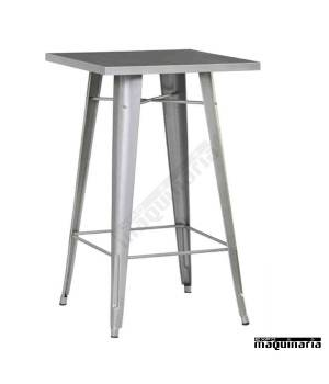 Mesa alta vintage de acero DL802