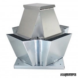 Extractor de tejado 400º/2H vertical AVTSKV