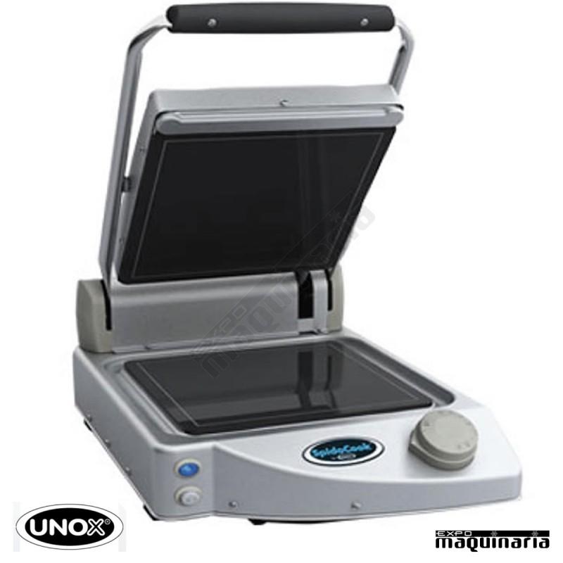 Plancha grill vitroceramica cristal negro unxp010p profesional - Planchas electricas cocina ...