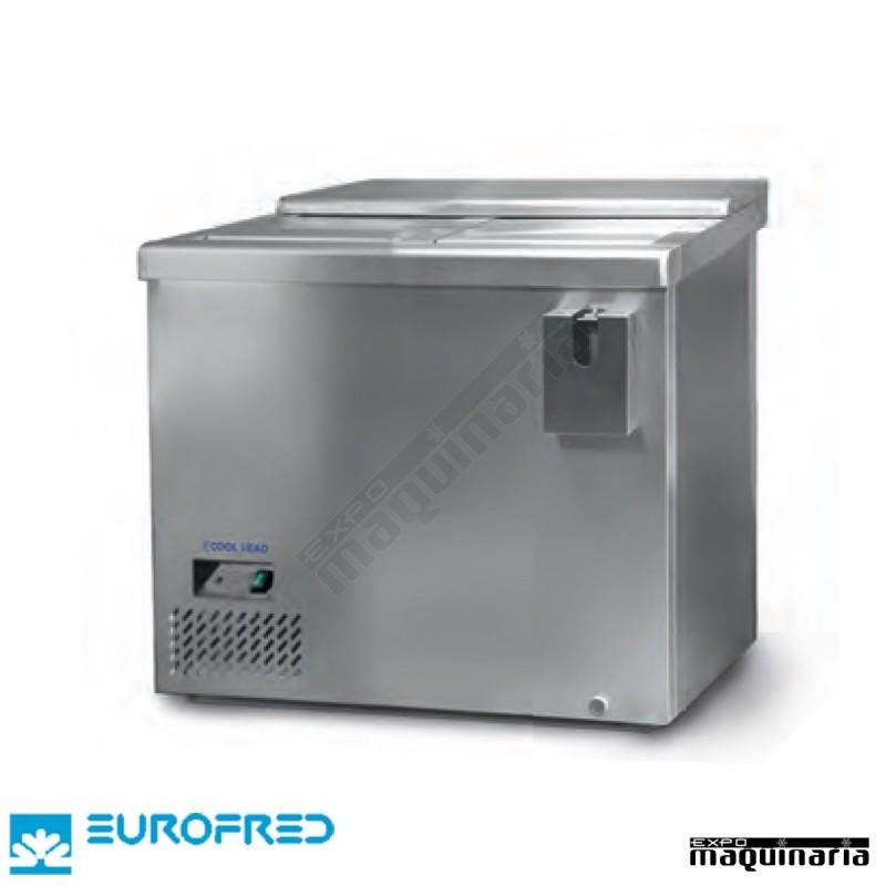 Botellero acero inoxidable efbtl1000 de acero inoxidable for Frigorifico acero inoxidable