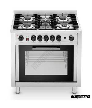 Cocina horno industrial de gas rmekp96 ekc96 3 for Ver cocinas industriales
