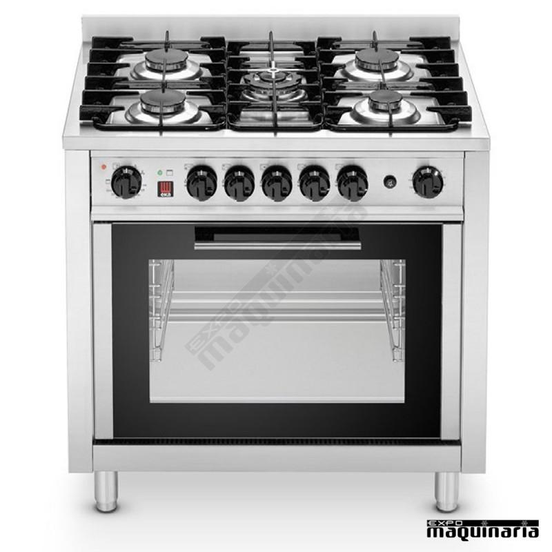 Cocina horno industrial de gas rmekp96 ekc96 3 - Hornos para cocinas ...