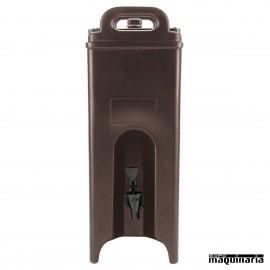 Contenedor isotérmico de bebidas DM250LCD frente
