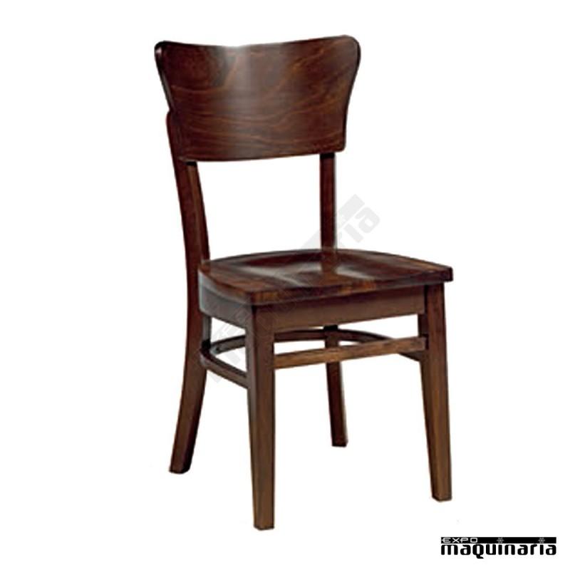Silla bodega de madera de haya im5277 de dise o cl sico y for Sillas madera