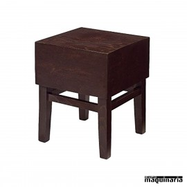 Banqueta bar de madera IM5213