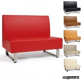 Sofá modular tapizado P.U. colores IM6120