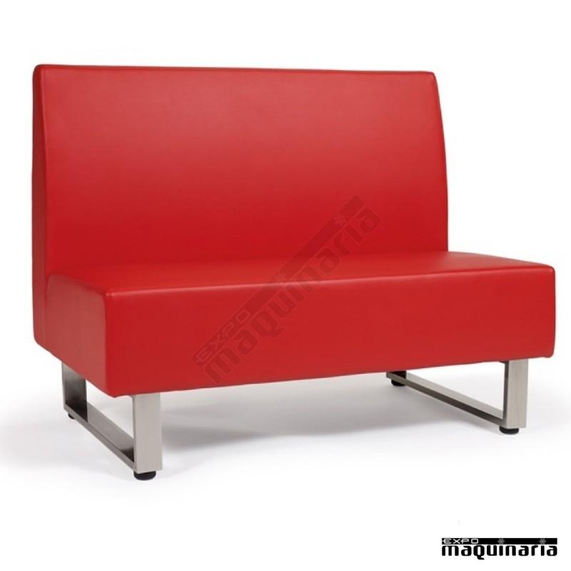 Sofá Modular Tapizado PU Colores IM6120 Polímero Con