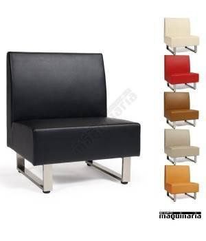 Sillón modular tapizado P.U. colores IM6080 colores